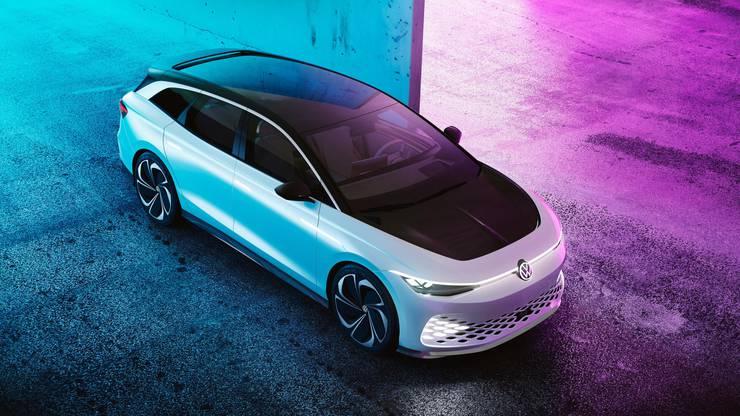 Die futuristische Vision von VW: der ID Space Vizzion. Bild: zvg