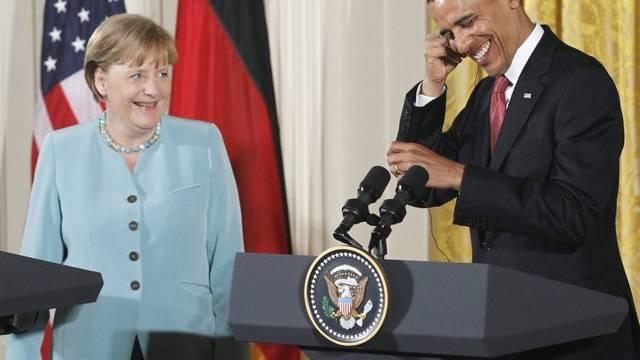 Merkel und Obama sagen sich neuerdings Angela und Barack
