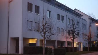 In diesem Mehrfamilienhaus in Hägendorf wurde am 15. Januar 2012 der Vater des Angeklagten mit 46 Stichen niedergemetzelt.