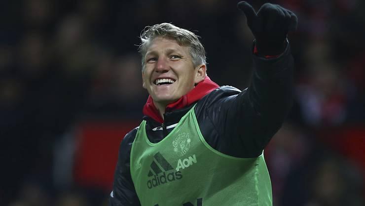 Bastian Schweinsteigers Einsatzchancen bei Manchester United steigen dank dem dichten Programm
