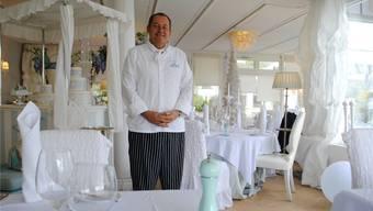 Philipp Thoma serviert im «White House» in Rheinfelden oft die Sieger-Gerichte aus «Mini Beiz, dini Beiz». Archiv/nbo