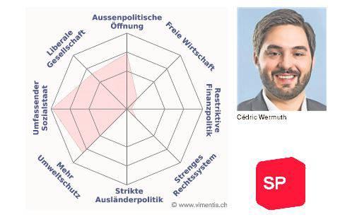Das Profil von Cédric Wermuth (SP)