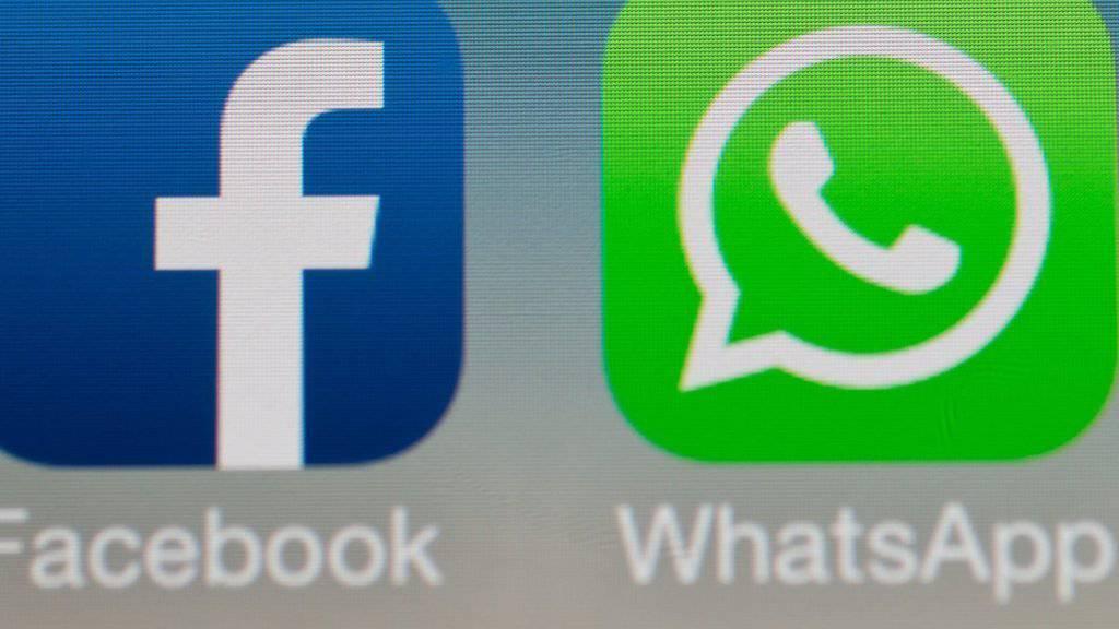 Die Facebook-Tochter Whatsapp sagt Skype und Co. den Kampf an: Nutzer können mit der App neu auch Videoanrufe tätigen. (Archiv).