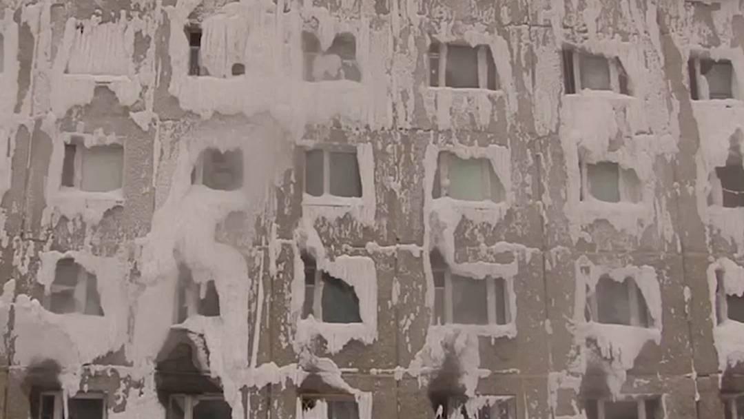 Wasserrohrbruch lässt ganzes Haus gefrieren
