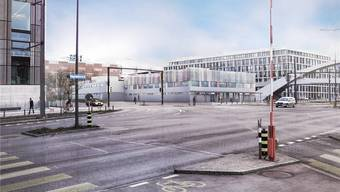 Auf dem Duttweiler Areal in Zürich West soll ein dreistöckiges Gebäude für 360 Flüchtlinge gebaut werden.