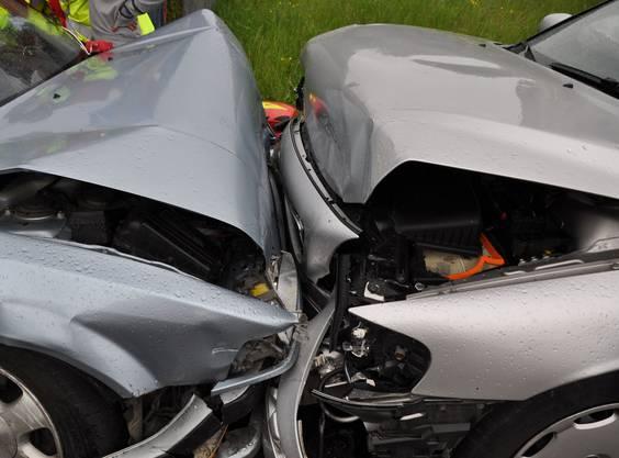 In den Unfall waren noch ein drittes Auto involviert.