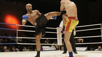 Die Kampfsportnacht organisiert von Thaiboxer Paulo Balicha (links) wurde vom Grand Casino Basel abgesagt.