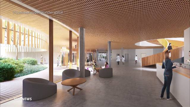Spatenstich für neues Kinderspital Zürich-Lengg