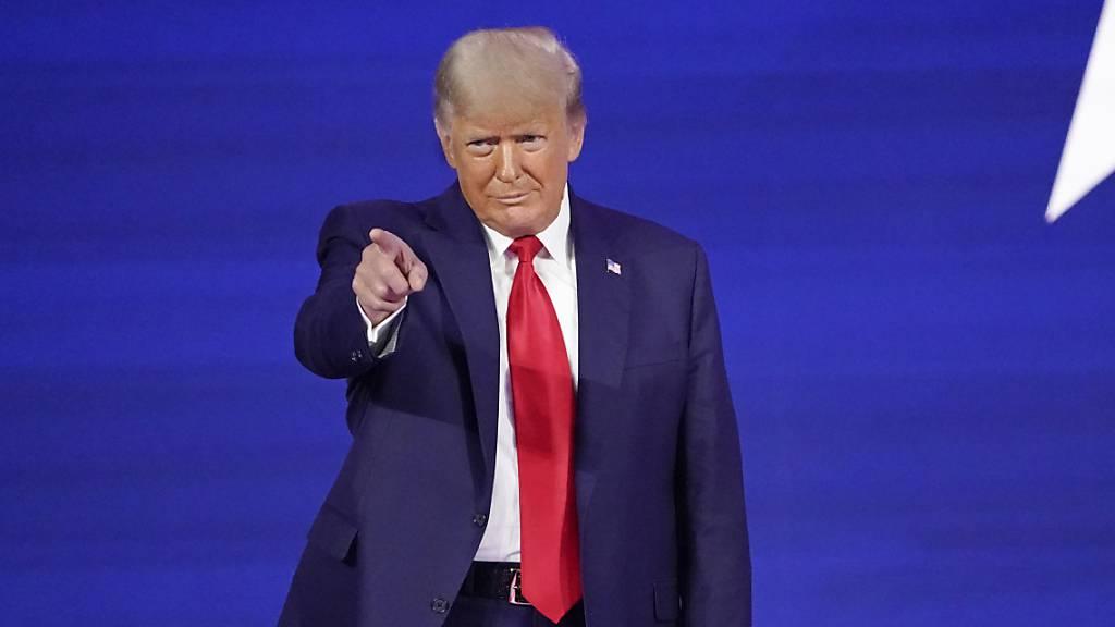 Trump wurde vor Auszug aus Weissem Haus gegen Corona geimpft