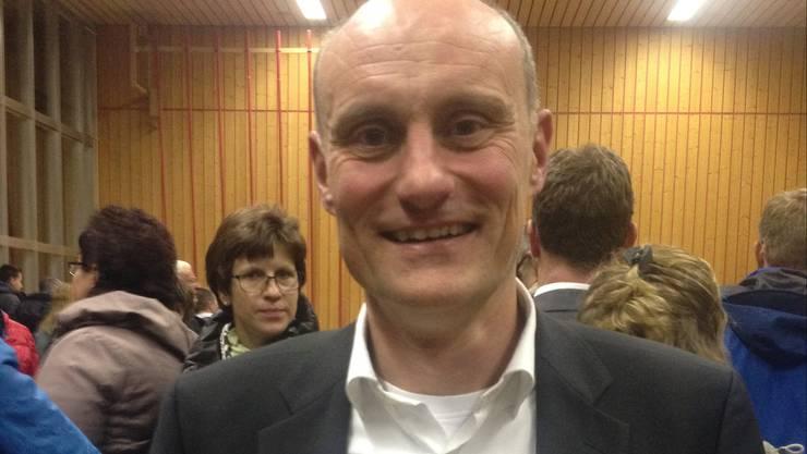 Markus Moll vom Elternrat Riedholz ist zufrieden