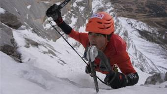 Durch die Nordwand in 2 Stunden und 23 Minuten: 2015 eroberte Ueli Steck den Weltrekord am Eiger zurück.Keystone