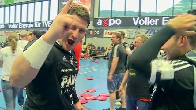 Suhr Aarau steigt nach Handballkrimi auf
