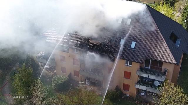 Hunderttausende Franken Sachschaden nach Brand in Hägendorf