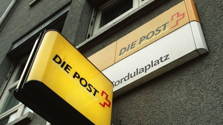 Die Poststelle am Cordulaplatz ist eine von 32 im ganzen Kanton, die bis 2020 zugehen dürften. (Archiv)