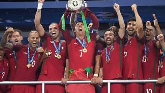 Cristiano Ronaldo ist mit Portugal am Ziel seiner Träume.