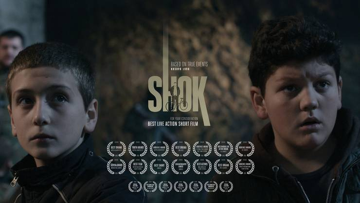Shok - der Kurzfilm über zwei Kinder, die während des Kosovo-Krieges verfolgt wurden.