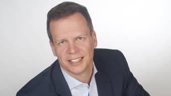 Adrian Gräub, Präsident der SVP Baden
