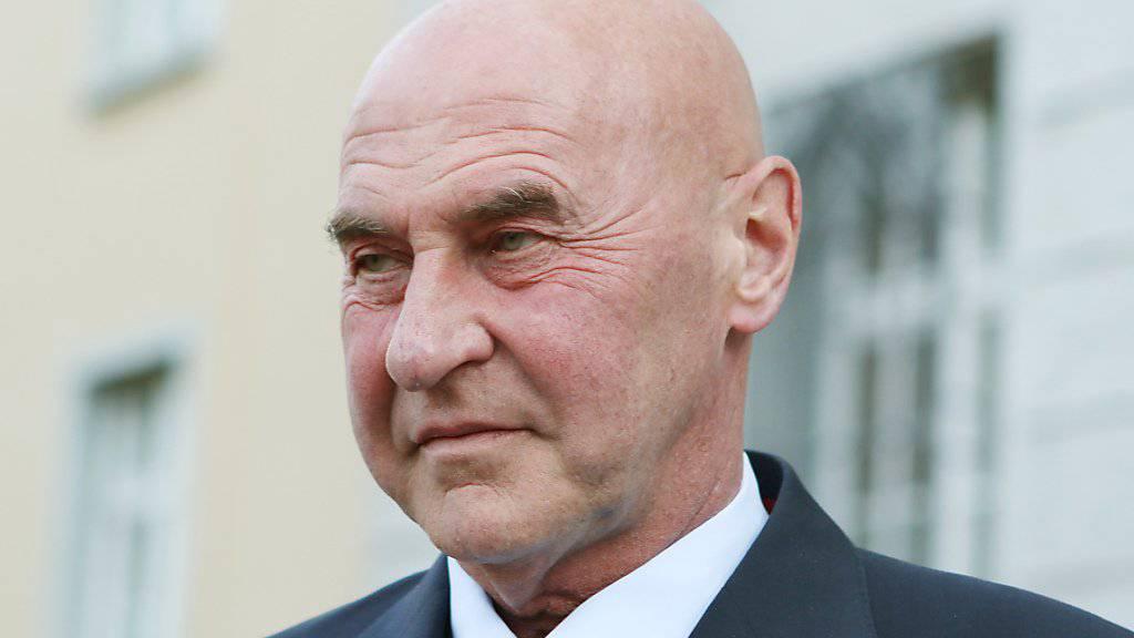 Der Anwalt Valentin Landmann vertritt den in Deutschland wegen Spionagevorwüfen verhafteten Schweizer. (Archivbild)