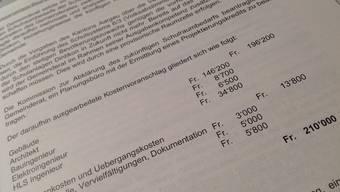 Die Gemeindeversammlung sagt Ja zu 210'000 Franken für die Projektierungsarbeiten der Schulraumerweiterung.