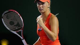 Wozniacki in Key Biscayne im Halbfinal