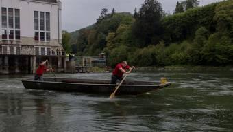 Meisterschaften bei den Pontonieren in Baden