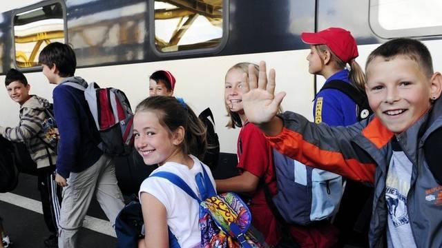 Zehntausende Schüler und Schülerinnen mit der SBB unterwegs