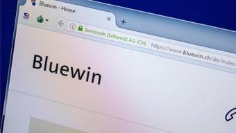 Das Swisscom-Newsportal Bluewin gehört zu den Grossen.