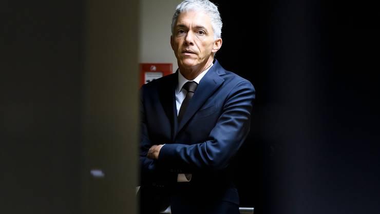 Der Druck aus der Politik und von seiner Aufsicht steigt: Bundesanwalt Michael Lauber.