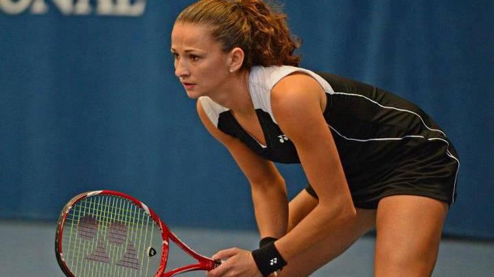 Amra Sadikovic wurde von Jil Teichmann aus dem Turnier geworden. (Archivbild)