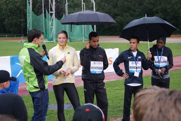 Sprinterin Lea Sprunger war das Aushängeschild der Schweiz.