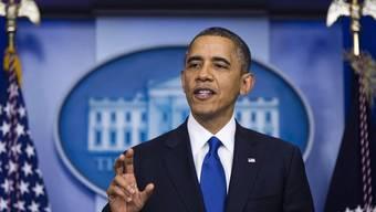 US-Präsident Barack Obama ruft die Abgeordneten dazu auf, kurzfristigen Massnahmen zuzustimmen