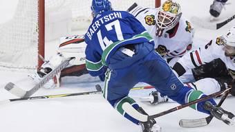 Sven Bärtschi schoss in 16 Spielen in dieser NHL-Saison 6 Tore