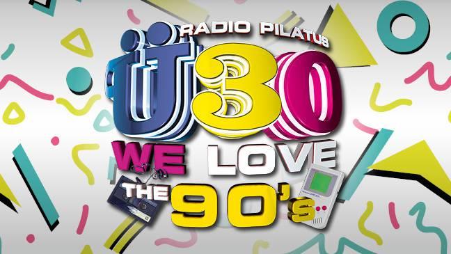 Ü30 – We Love The 90's -  wir feiern die 90er!