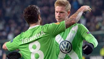 Die Wolfsburger liessen Freiburg nicht den Hauch einer Chance.
