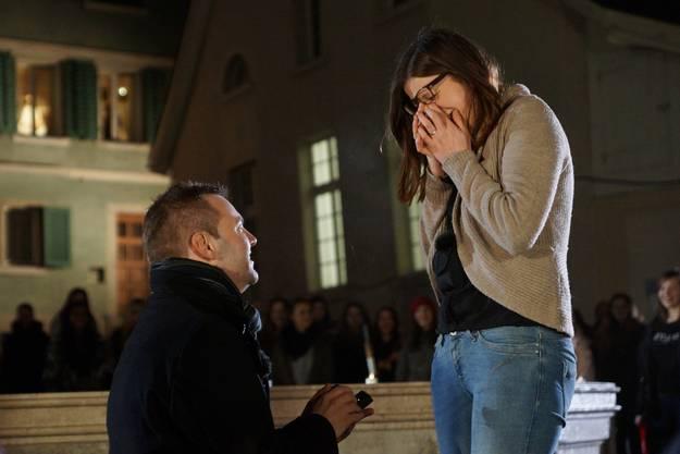 Der grosse Moment - Oliver macht Laura seinen Heiratsantrag