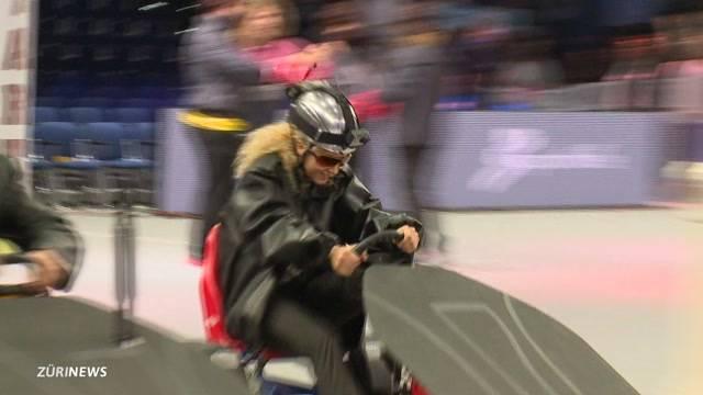 Spitzensportler bestreiten Super10Kampf im 80ies-Style