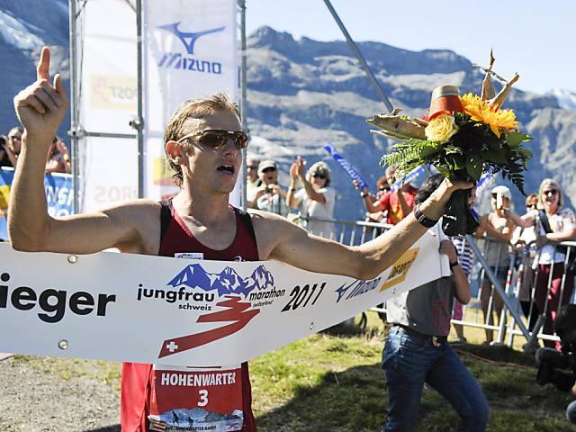 Über 4000 Läufer aus 52 Ländern bewältigten den Jungfrau-Marathon