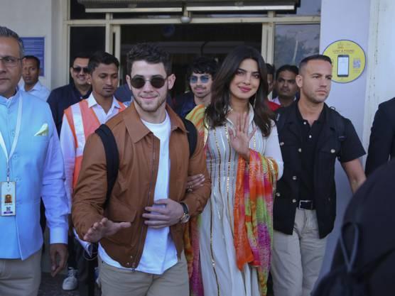 Sie versetzen ein ganzes Land in helle Aufregung: Bollywood-Schauspielerin Priyanka Chopra und ihr Verlobter, US-Musiker Nick Jonas.
