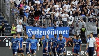 Dem HSV droht der erstmalige Abstieg aus der ersten Bundesliga