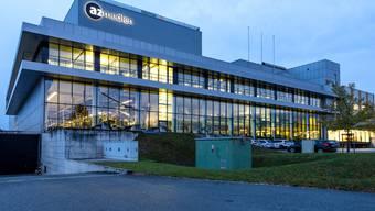 Der Newsroom der AZ in Aarau.