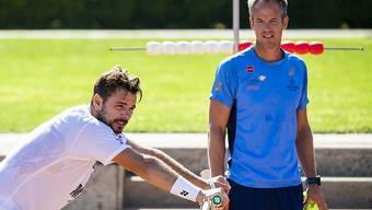 Magnus Norman und Stan Wawrinka werden nicht mehr gemeinsam auf dem Trainingsplatz stehen.