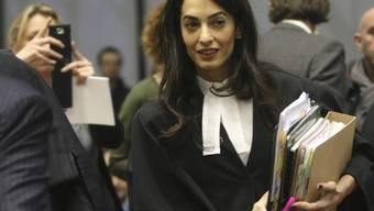 So wird man Amal Clooney ein Jahr lang nicht mehr sehen (Archiv)