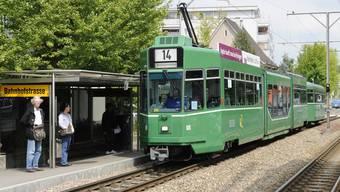 BVB-Trams sind auch im Baselbiet unterwegs.