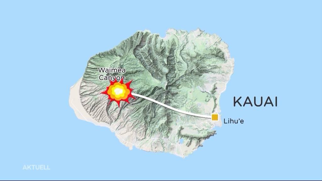 Helikopterabsturz auf Hawaii: Familie kam aus Schinznach-Bad