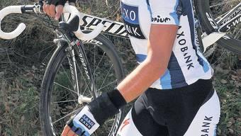 «Shit happens»: Vor einem Jahr wurde Fabian Cancellara durch einen Kettenriss gestoppt.