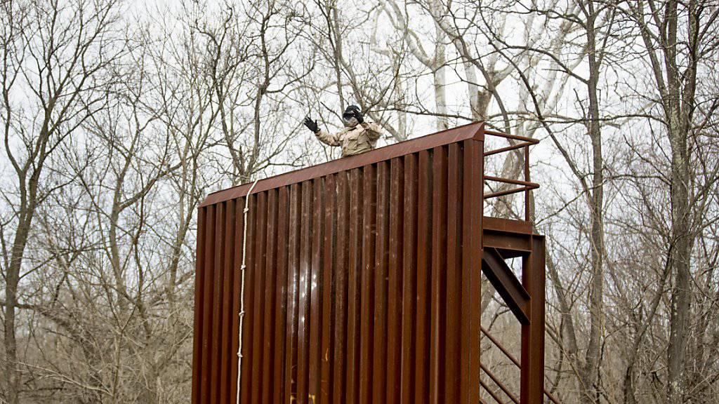 US-Grenzschützer beim Training. (Archivbild)