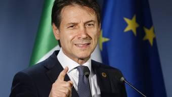 Italiens Ministerpräsident Giuseppe Conte will mit höheren Schulden die Wirtschaft seines Landes ankurbeln - der EU passt das aber offenbar gar nicht. (Archivbild)