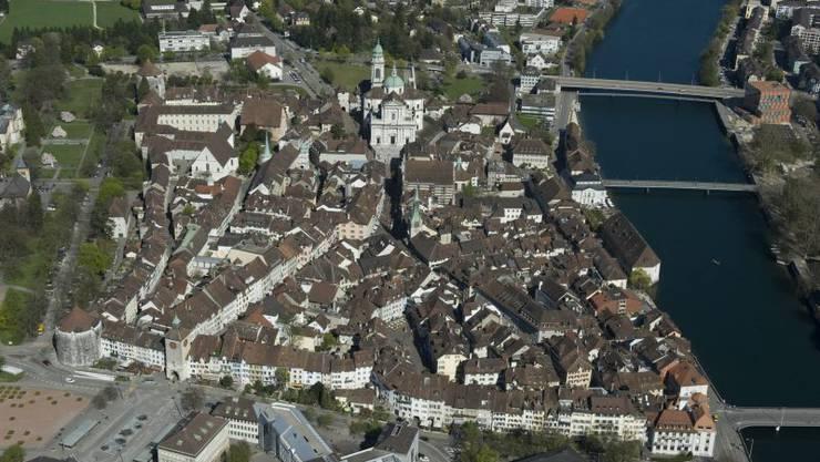 Was tönt wohl alles früh morgens in der Solothurner Altstadt?