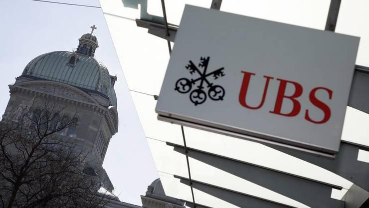 Bundesverwaltungsgericht prüft, ob Herausgabe der UBS-Kundendaten im Februar rechtswidrig gewesen ist oder nicht. (Archiv)
