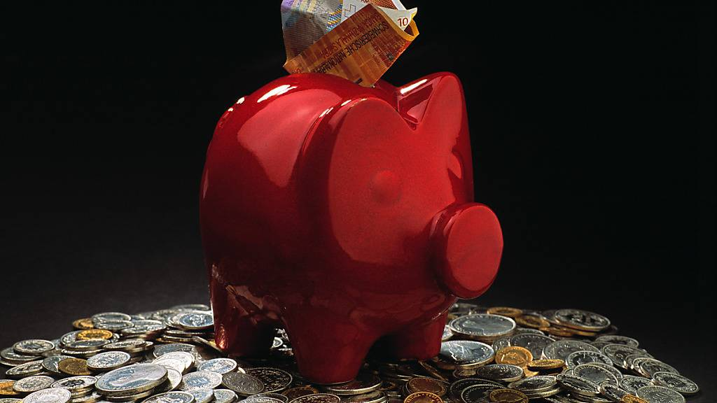 1589 Franken monatlich fürs Sparschwein im Durchschnittshaushalt
